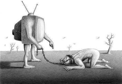 Cuando los medios son un vehículo de adoctrinamiento.