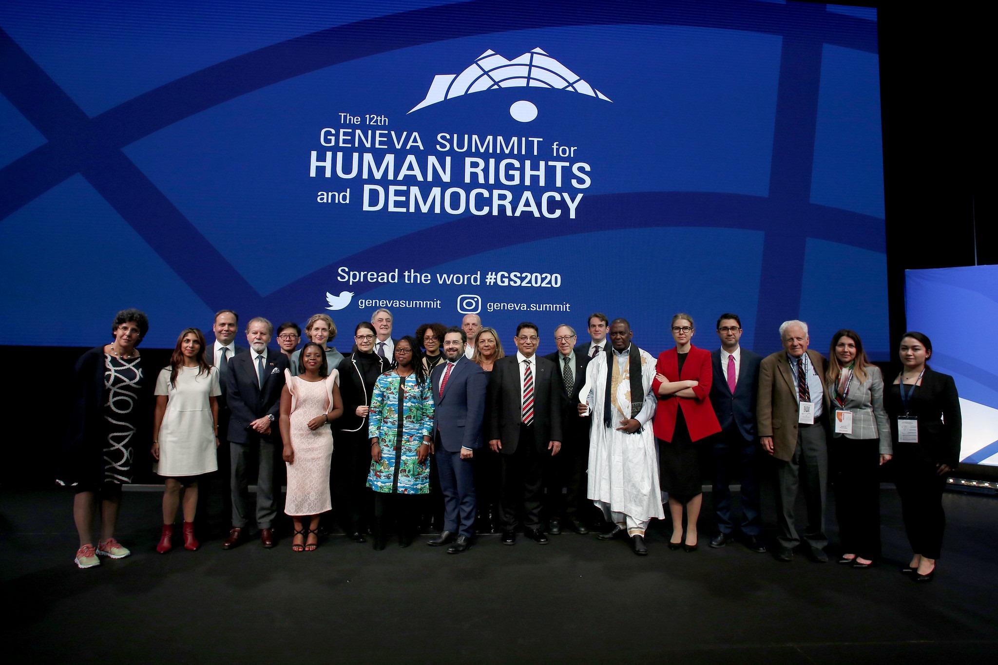 Invitación a la Cumbre de Ginebra por los Derechos Humanos y la Democracia